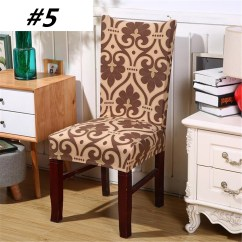 Dining Chair Covers For Home Ozark Trail Chairs Meigar Spandex Soft Super Fit Stretch Removable Short Protector Cover Banquet Seat Room Ceremony
