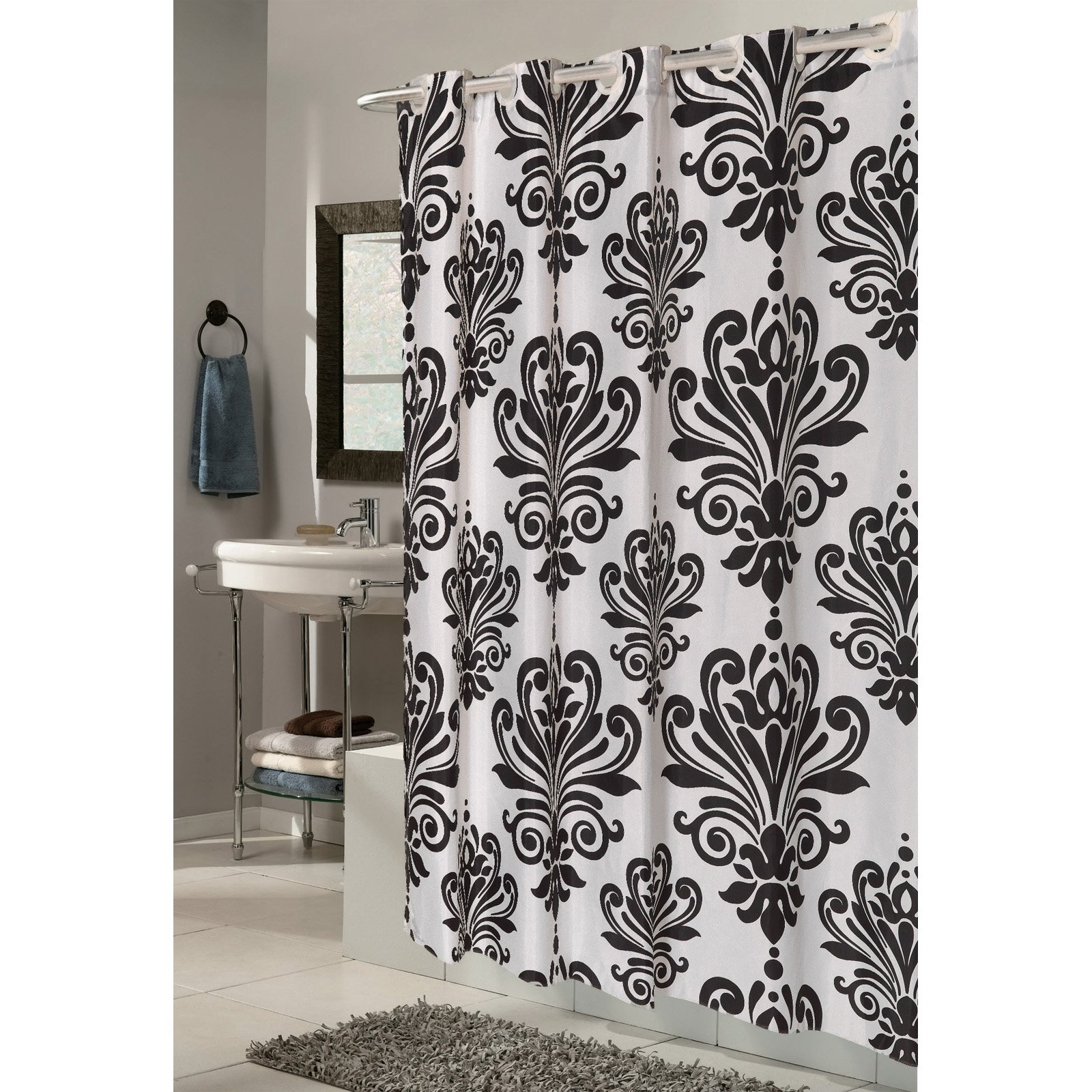 cream shower curtains walmart com