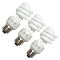 Sylvania 13 Watt Compact Fluorescent Mini Twist Bulb, 3pk