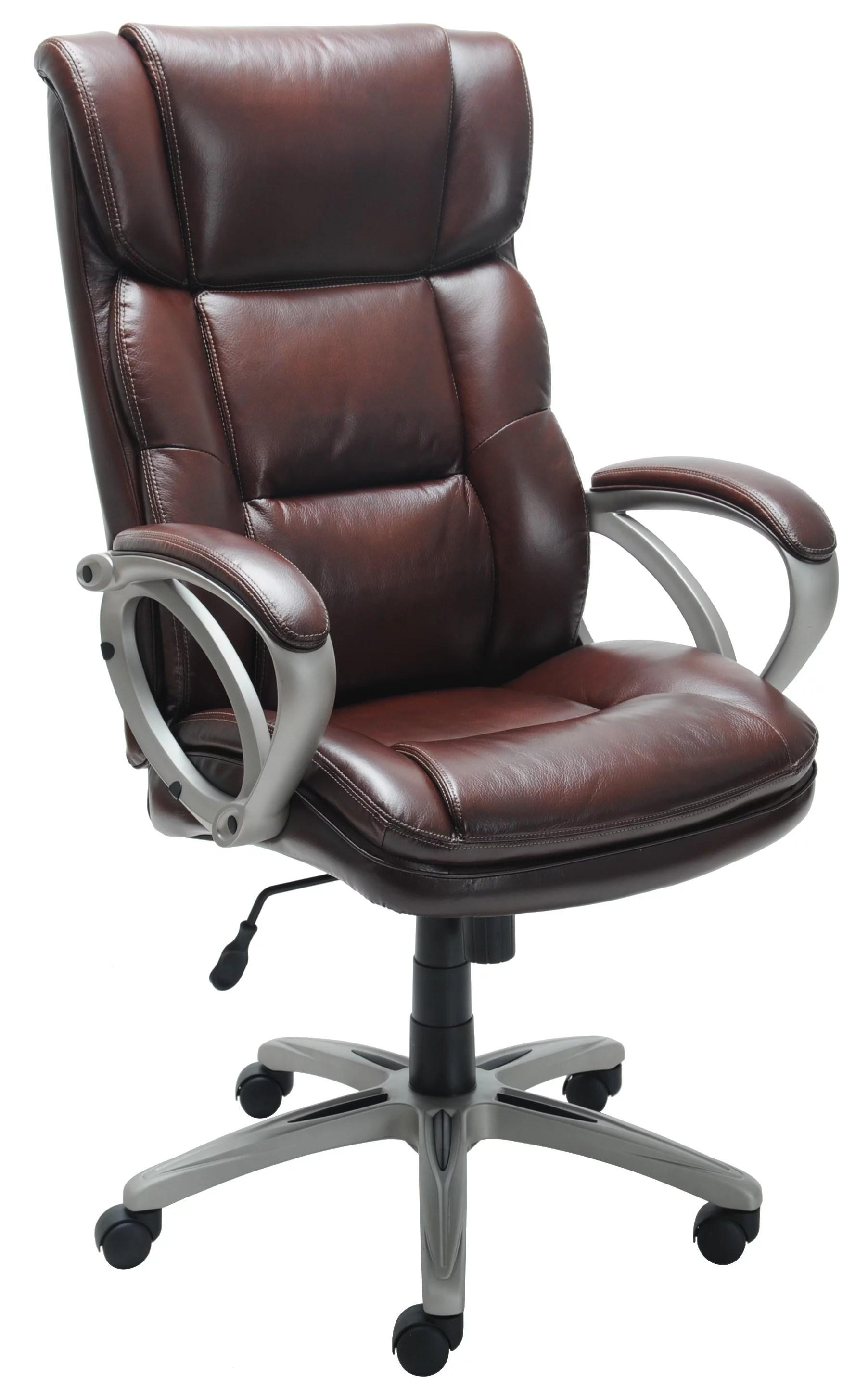 Broyhill Bonded Leather Executive Chair  Walmartcom