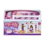 My Life As Loft Bed Play Set For 18 Dolls 6 Pieces Walmart Com Walmart Com