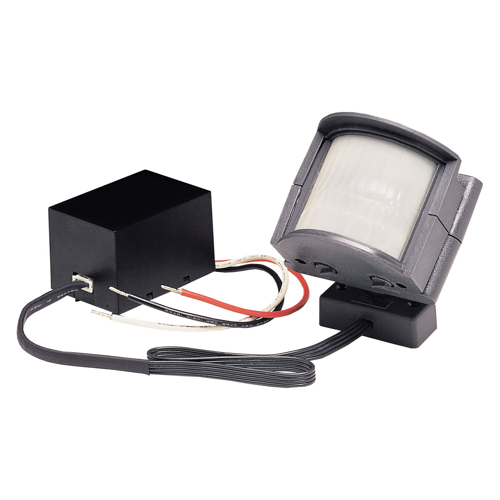 hight resolution of heathco sl 5210 gr b 110 degree wire in motion sensor light control walmart com