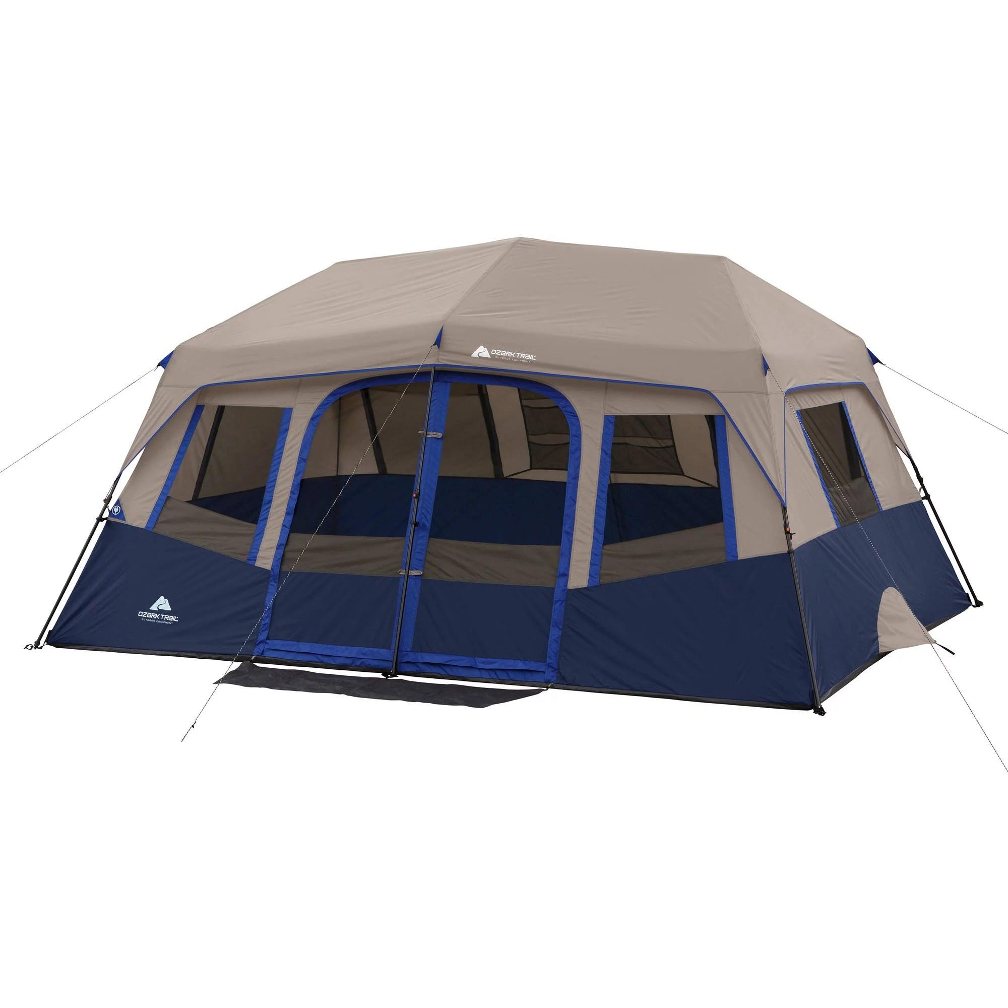 Ozark Trail 10 Person 2 Room Instant Cabin Tent  Walmartcom