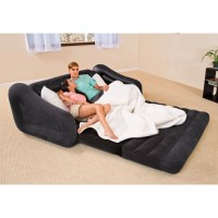 Inflatable Pull Out Air Sofa Bed Mattress Sleeper Blow Up ...