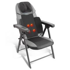 Massage Chair Portable Wheelchair Lift Cost Serenelife Slmsgch20 Foldable Programmable Heated Electric Neck And Back Seat Massager Walmart Com
