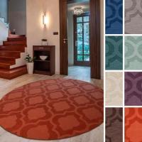 Surya Carpet, Inc. Hand-Woven Ali Tone-on-Tone Moroccan ...