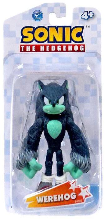 Sonic The Hedgehog Werehog Action Figure Walmart