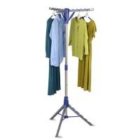 Mainstays Folding Tripod Air Drying Rack, Gray/Blue ...