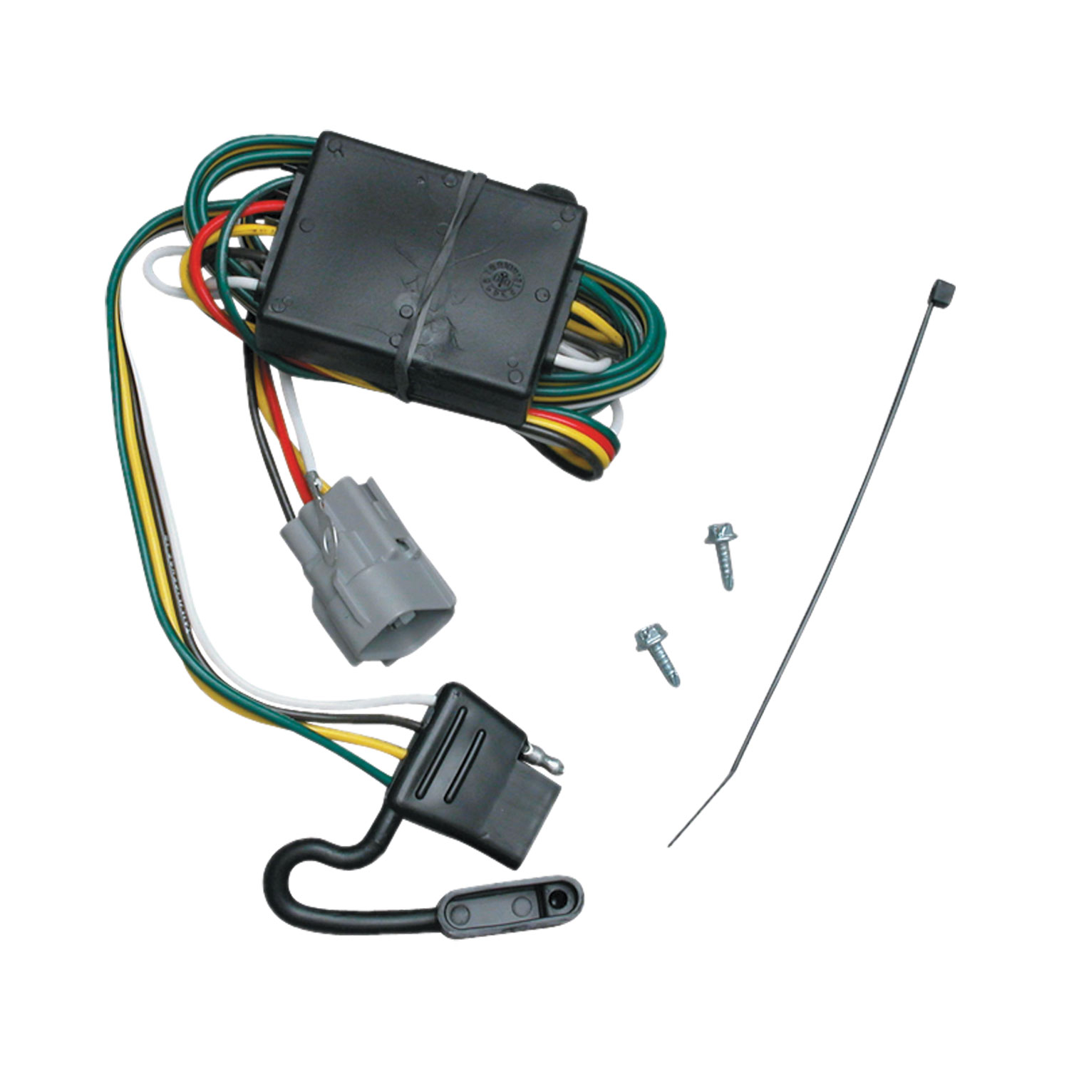 hight resolution of tekonsha 118365 trailer wiring connector t one 4 way flat replacement for oem wiring harness