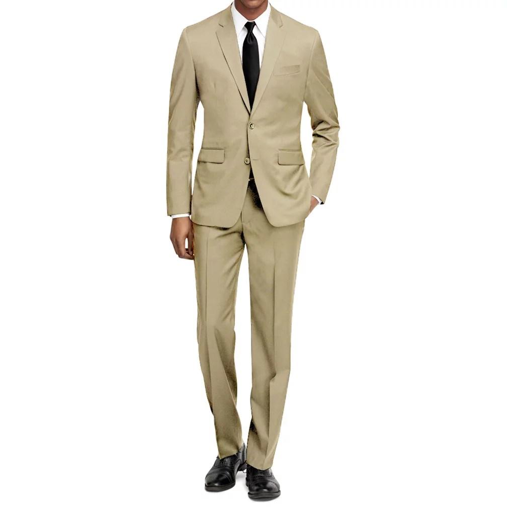 Braveman Mens 2PC Slim Fit Suits