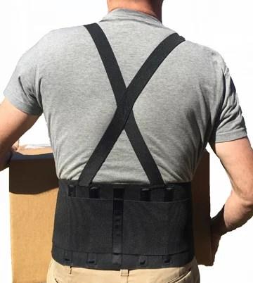 Alpha Medical Industrial Back Support Lower Back Brace ...