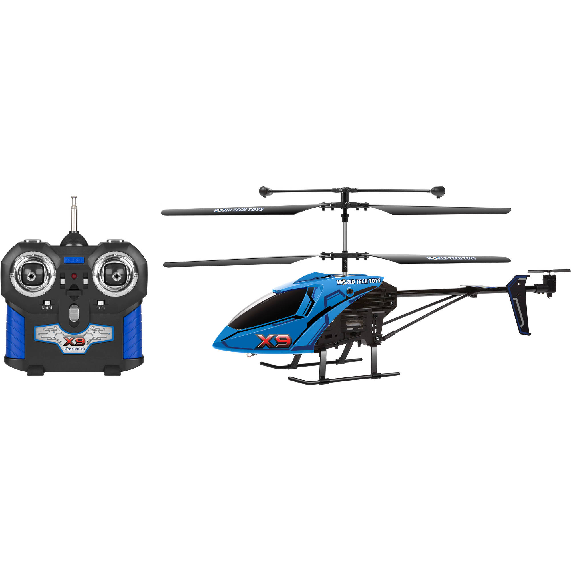 World Tech Toys 3ch X9 Remote Control Helicopter Color