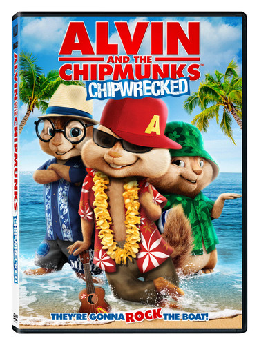Alvin And The Chipmunks Chipwrecked Dvd Walmart Com Walmart Com