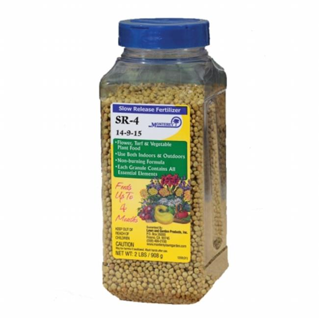 Lawn and Garden Products Inc MLGNLG7320 Monterey 2 No. SR4 Slow Release Fertilizer 14-9-15