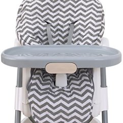 Teal Chair Covers Overstock Leather Club Chairs Nojo High Cover Pad Chevron Gray Walmart Com