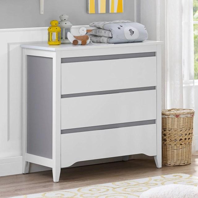 Baby Relax Aaden 2 Toned 3 Drawer Dresser Walmart