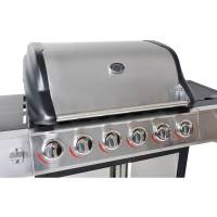 6-Burner Stainless Steel Gas Grill BBQ Backyard Patio With ...