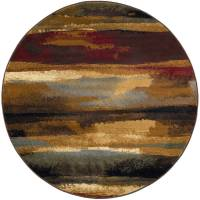 Bliss Rugs Dillon Contemporary Round Rug
