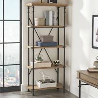 Better Homes and Gardens River Crest 5-Shelf Bookcase ...