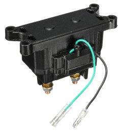 12v 250a atv utv solenoid relay contactor winch rocker thumb switch wiring combo walmart com [ 1200 x 1200 Pixel ]