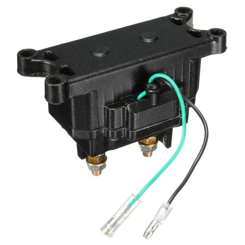 small resolution of 12v 250a atv utv solenoid relay contactor winch rocker thumb switch wiring combo walmart com
