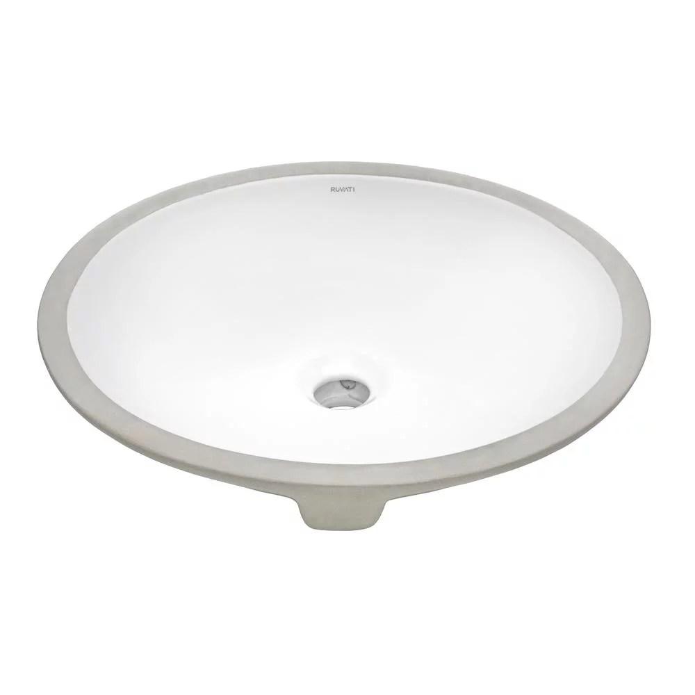 ruvati rvb0616 15 x 12 inch undermount bathroom vanity sink with overflow