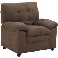 Buchannan Microfiber Chair Brown Gray Black Beige Living ...