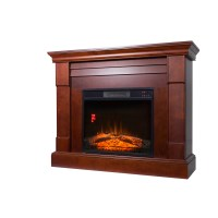 Decor-Flame Electric Space Heater Fireplace with 47 ...