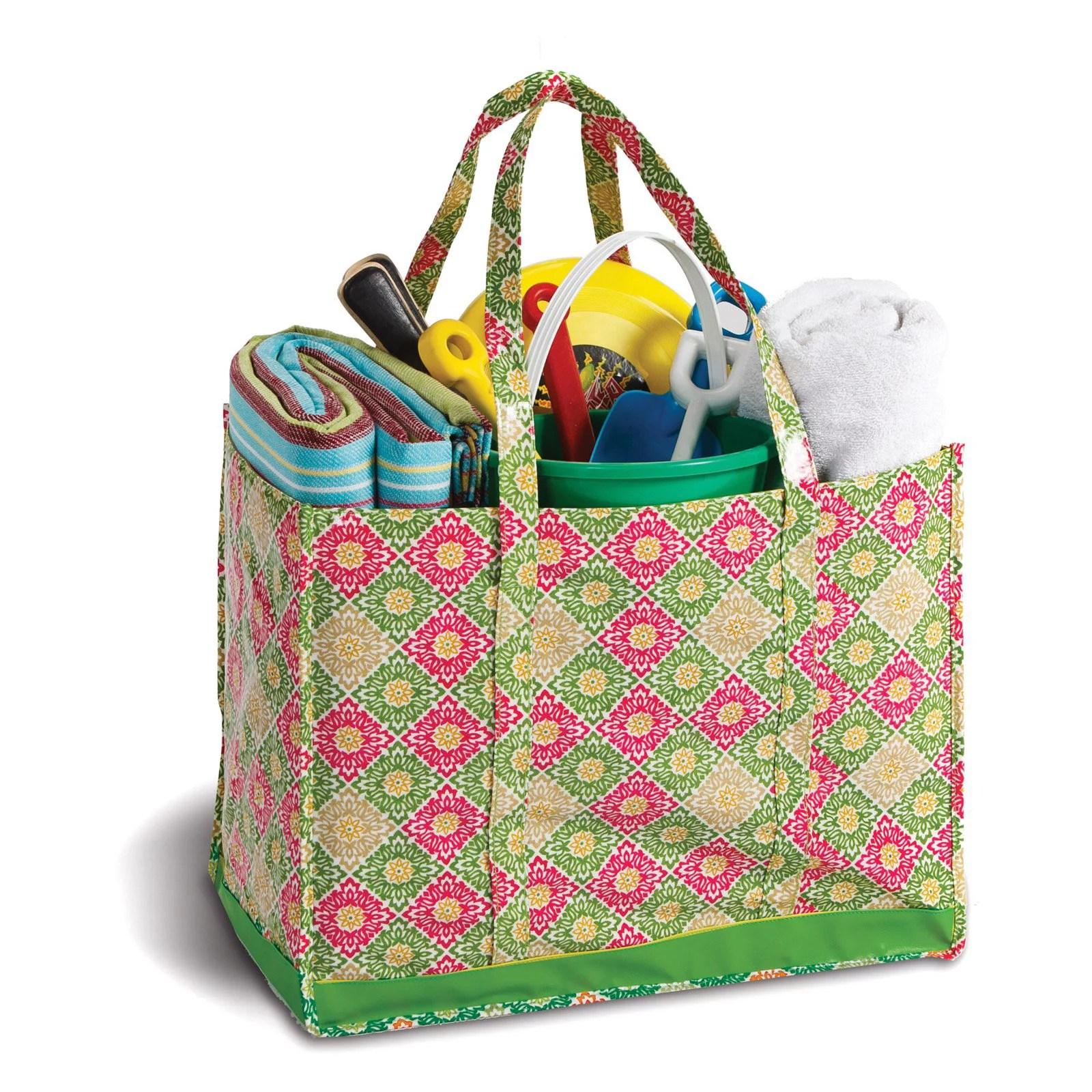 Picnic Plus Moxie Town Family Picnic Tote - Green Gazebo - Walmart.com