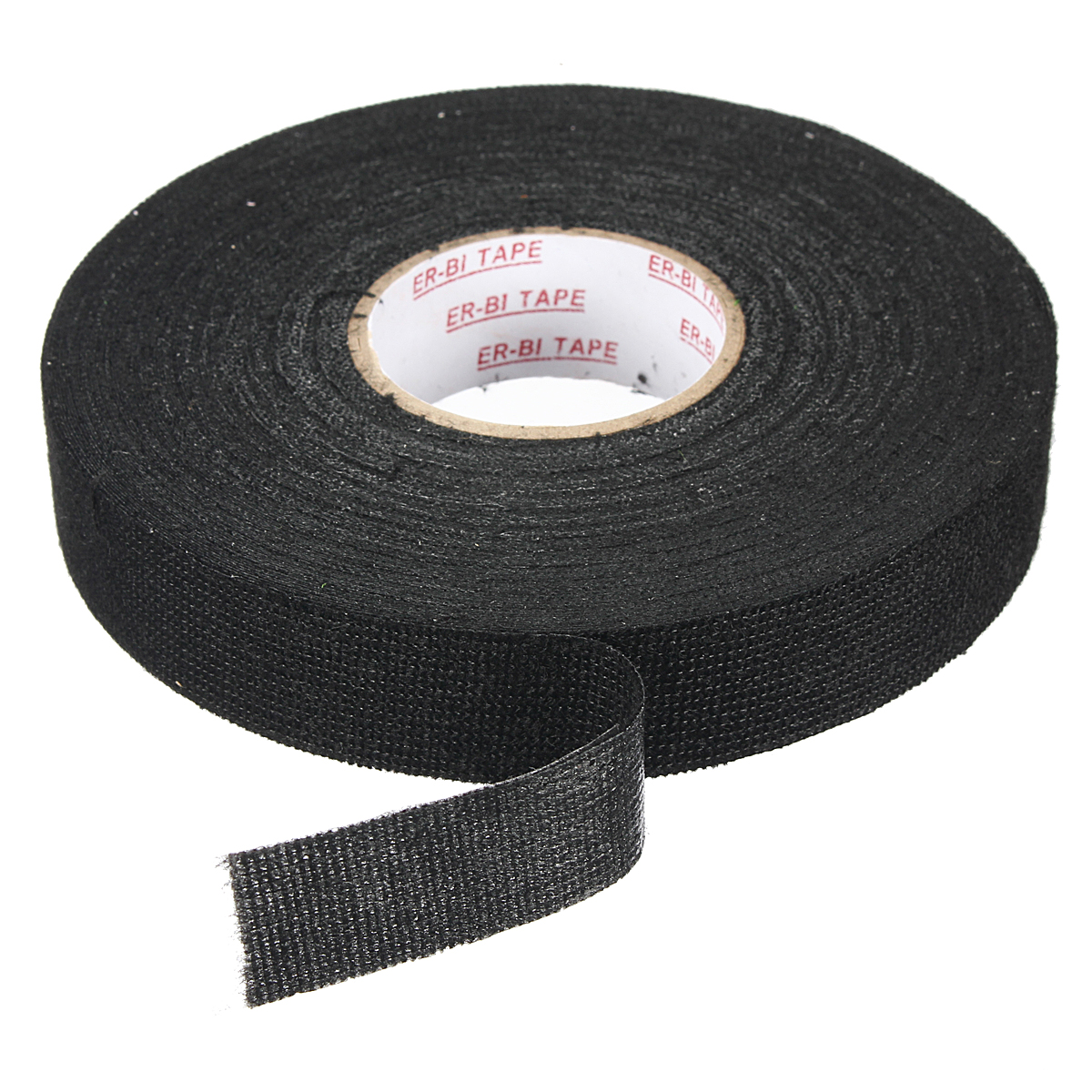 medium resolution of 19mm x 25m black wiring harness adhesive cloth fabric tape cable looms walmart canada
