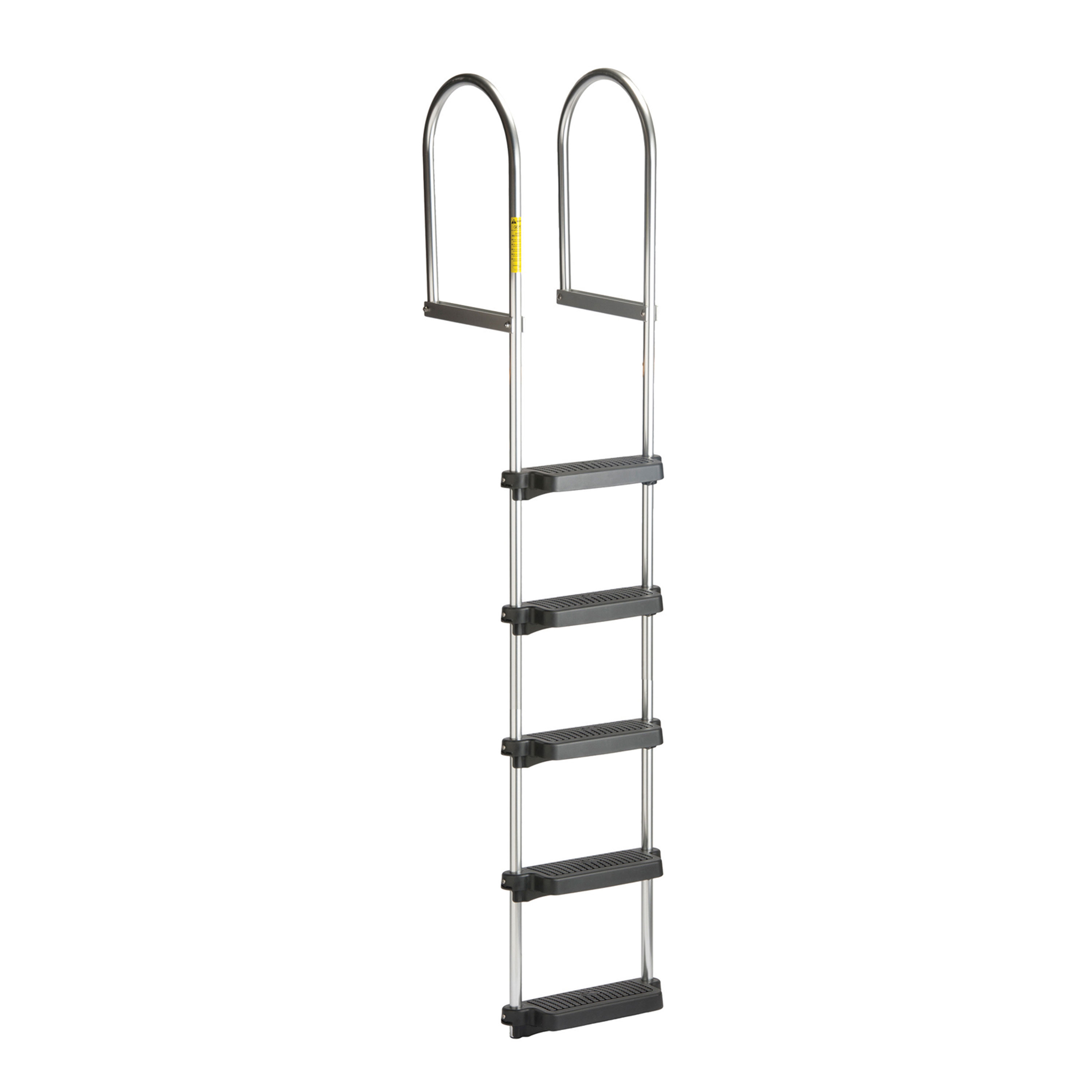 Garelick 15450:01 EEz-In Dock/Raft Ladder, Fixed with Poly