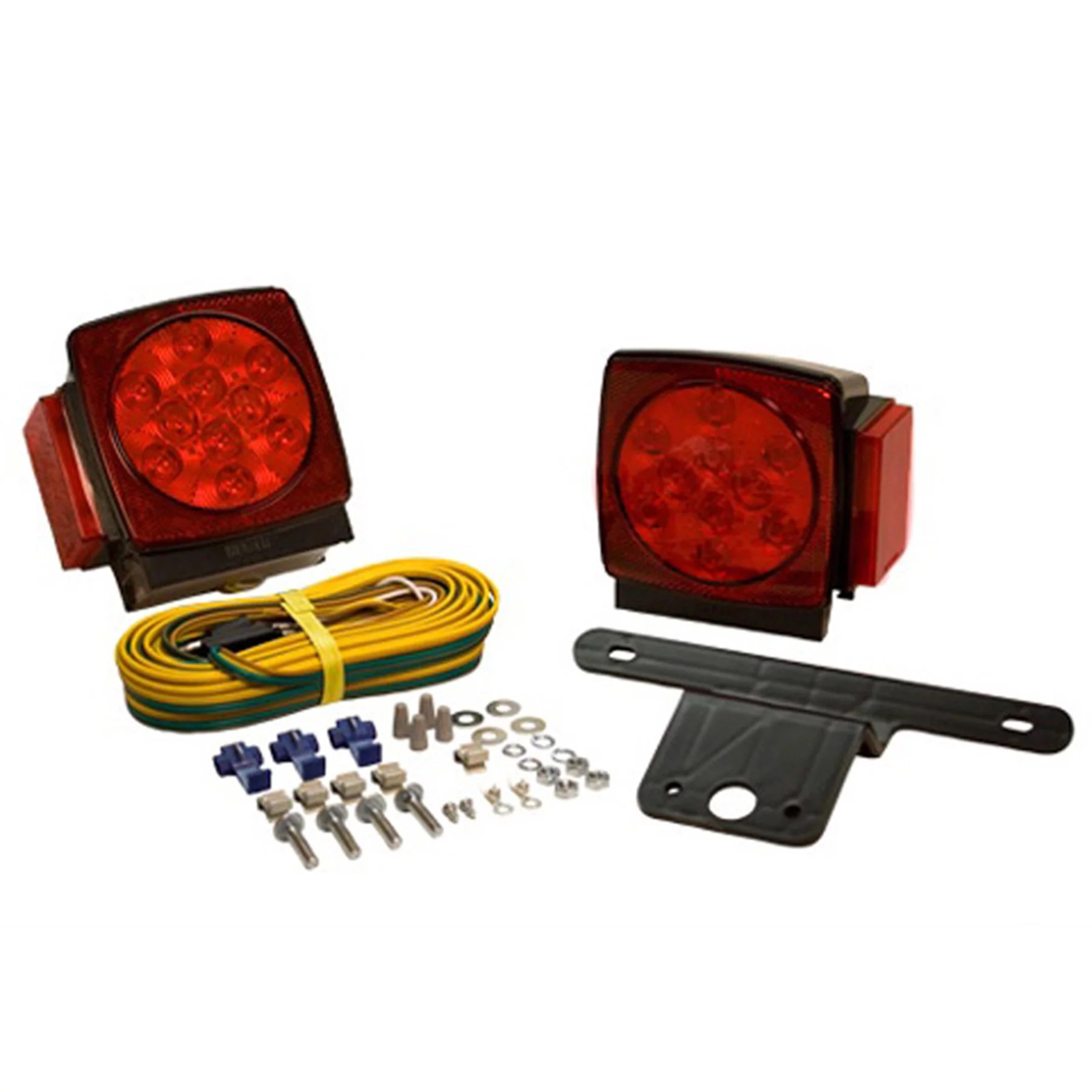 hight resolution of blazer c7423 submersible led trailer light kit for trailers under 80 wide 1 pair walmart com