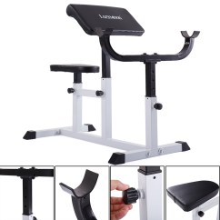 Chair Gym Commercial Black Wood Spindle Chairs Jaxpety Preacher Curl Bench Weight Adjustable Departments