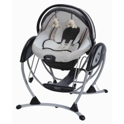 Baby Swing Vibrating Chair Combo Folding Bed Graco Glider Elite 2 In 1 Gliding Pierce Walmart Com