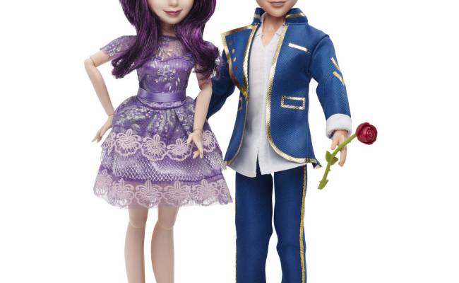 Disney Descendants 2 Pack Mal Isle Of The Lost And Ben