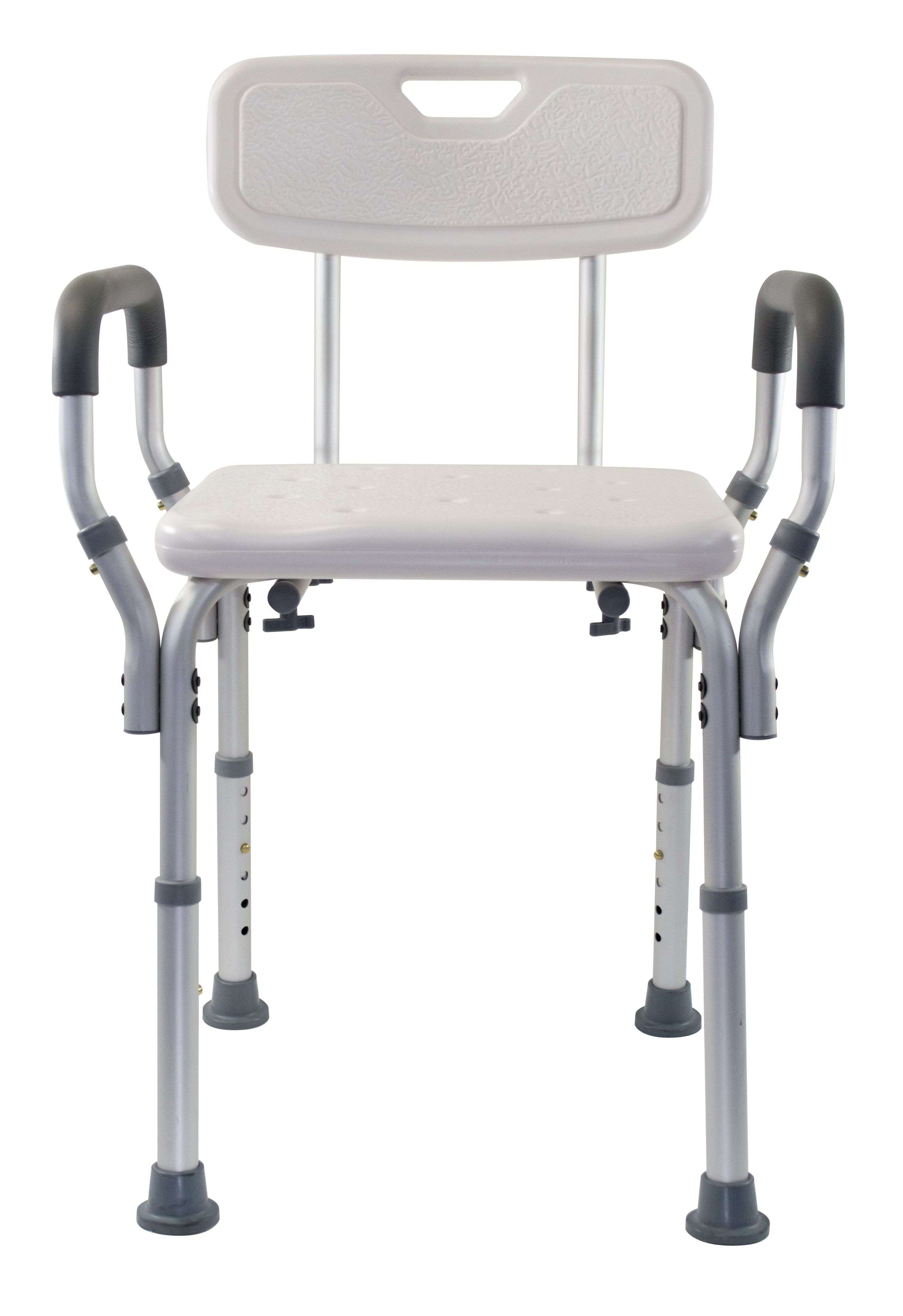 chair with arms high back club ottoman essential medical supply adjustable molded shower walmart com