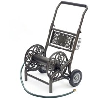 Decorative Hose Reel Cart, 2 Wheel