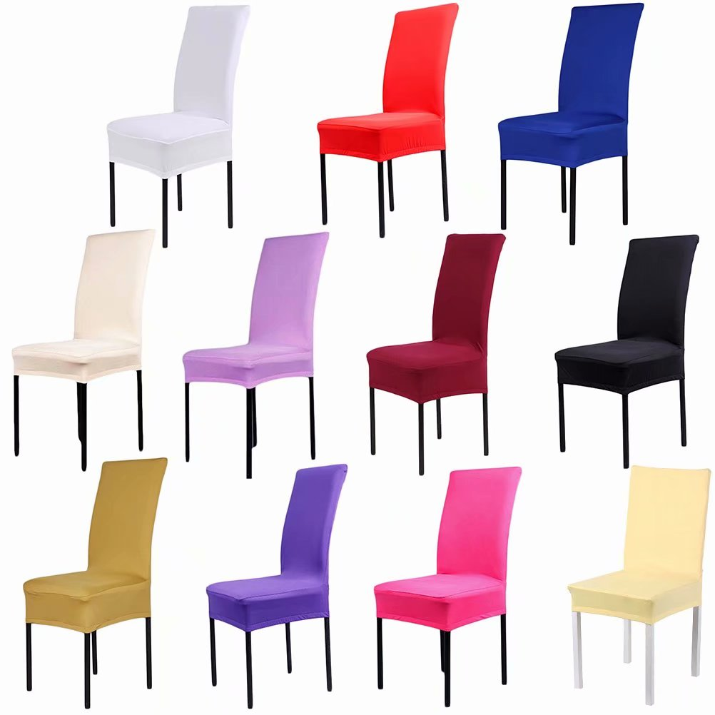 party chair covers canada pictures of beach chairs and umbrella dining walmart com product image stretch spandex washable stool cover protector seat slipcover wedding banquet decor hot