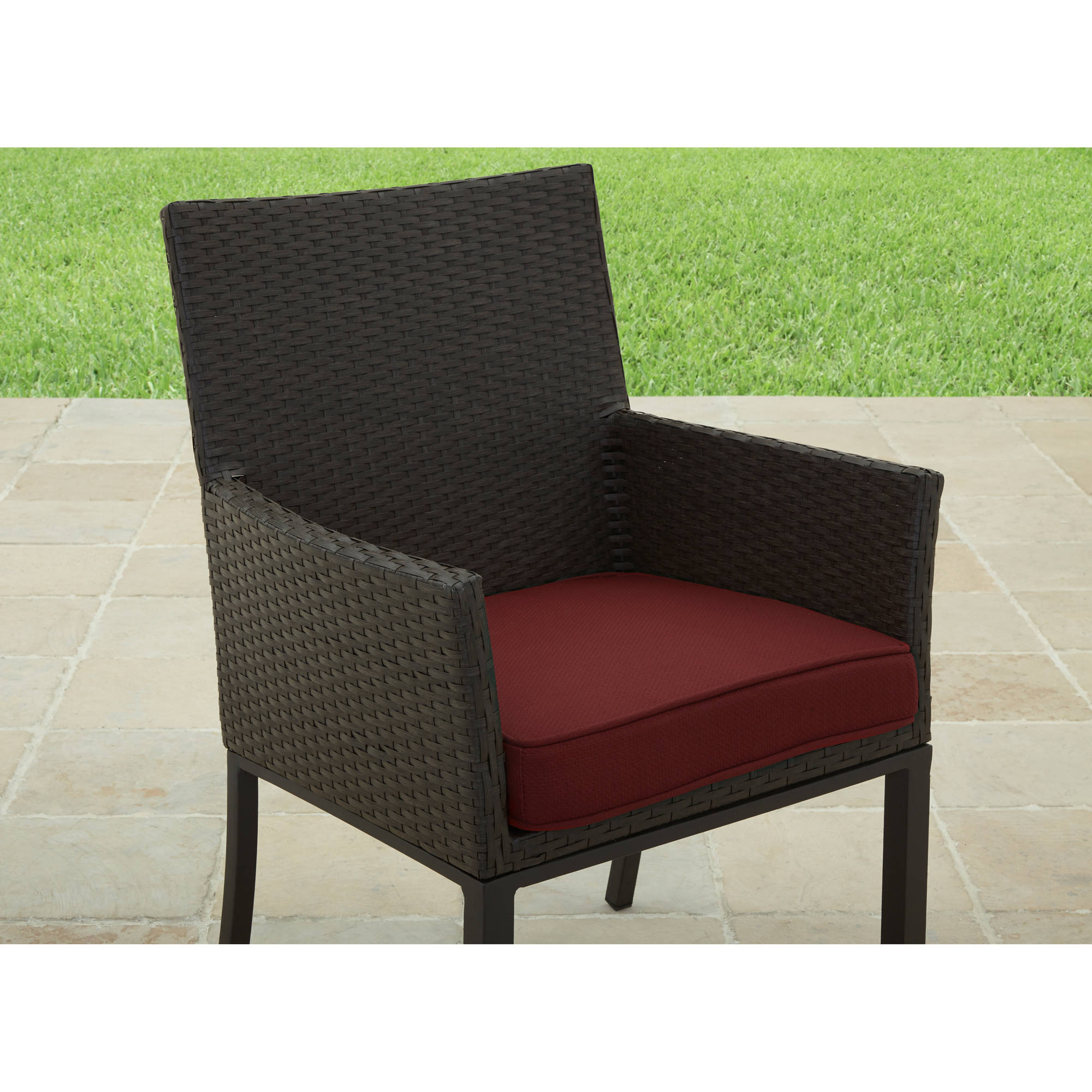 at home chairs chair stand test for seniors better homes and gardens rush valley outdoor dining set of 6 walmart com