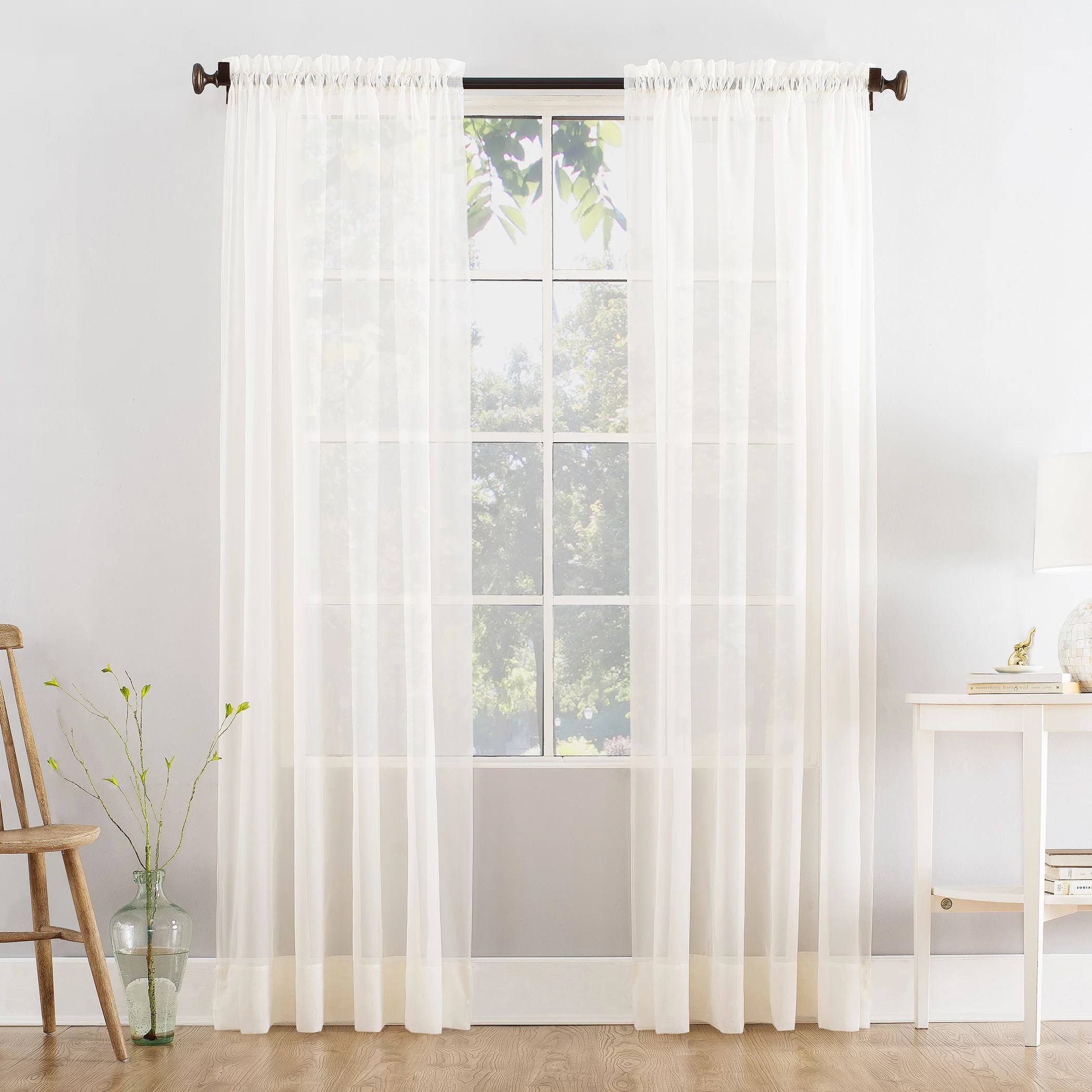 mainstays curtains window treatments