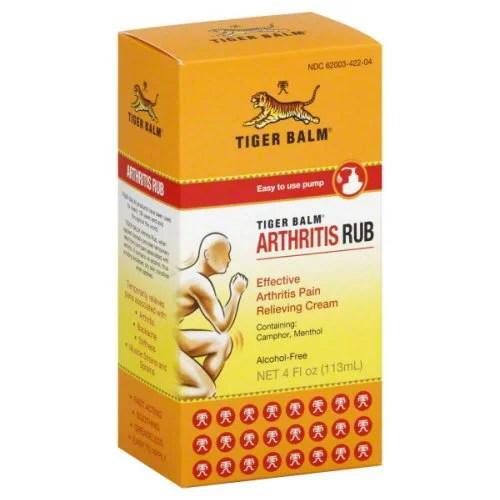 Tiger Balm Arthritis Rub - - 4 fl oz - Walmart.com ...