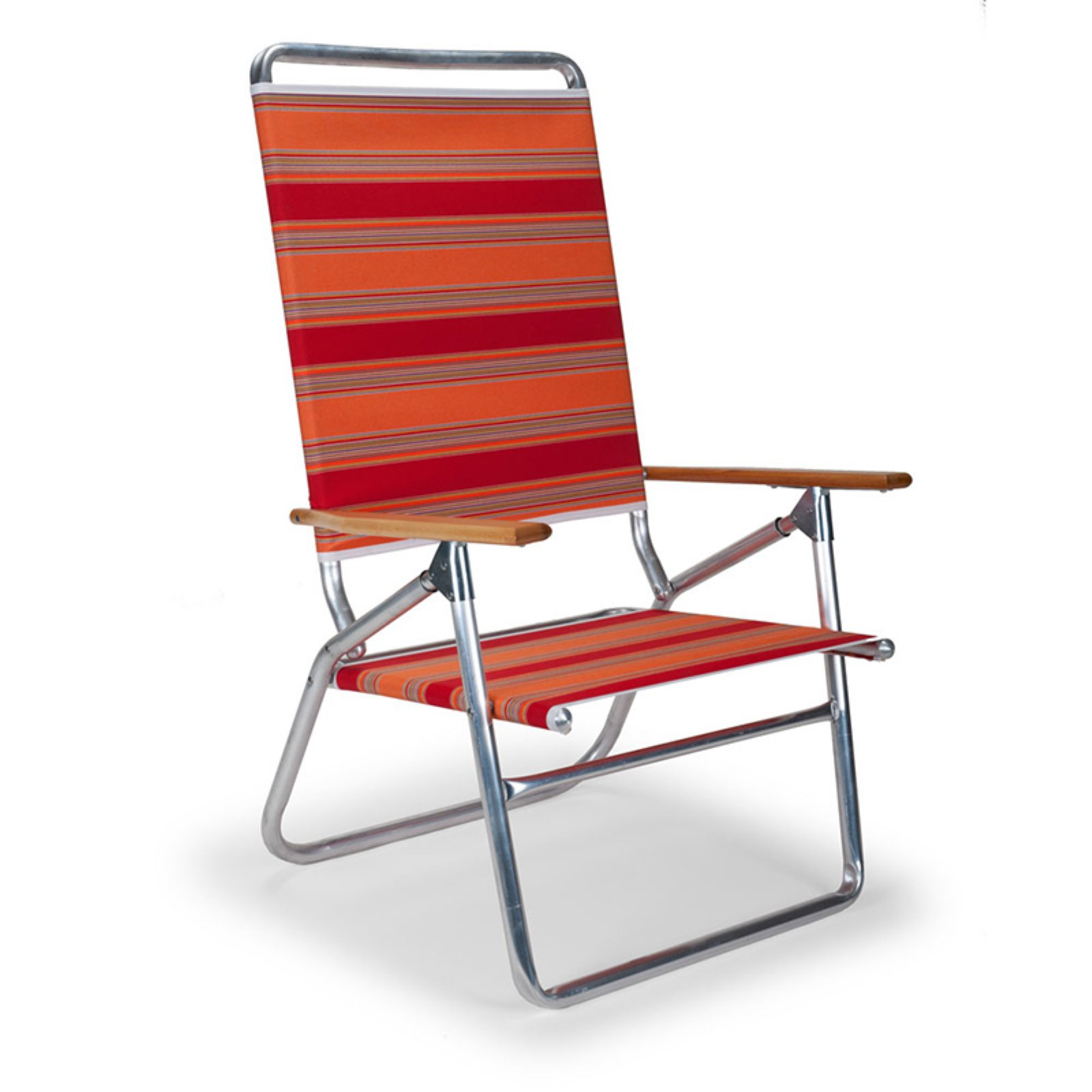 Telescope Beach Chair Telescope Foldable Light N Easy High Boy Beach Chair Silver Aluminum Frame
