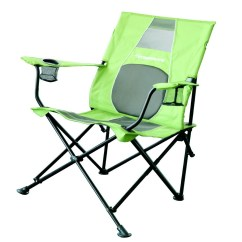 Strong Back Chairs Swivel Chair Explanation Strongback Core Lime Grey Mesh Folding Camp With Superior Support