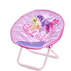 Saucer Chair For Kids Slipcovers Folding Chairs Pattern My Little Pony Mini Walmart Com
