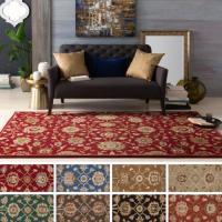 Surya Carpet, Inc. Hand-Tufted Calne Floral Wool Rug (7'6 ...