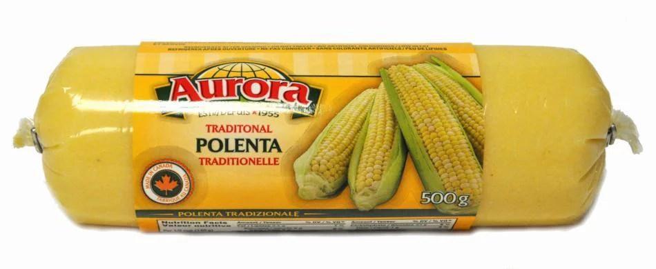 Polenta Roll (Aurora) 500g (17 oz) - Walmart.com