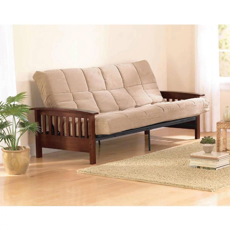 belleze multifunctional futon convertible bed upholstered microfiber gray walmart com