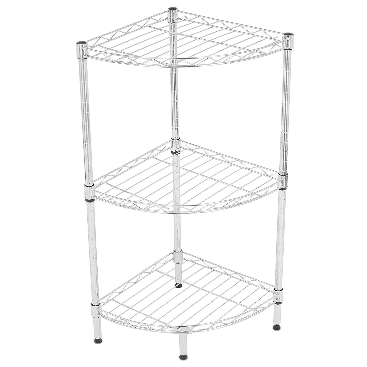 Internet S Best 3 Tier Corner Wire Shelving