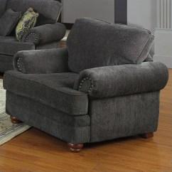 Walmart Living Room Chairs Decorating Small Coaster Company Colon Chair Smoky Grey Com
