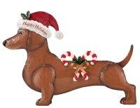 Seasonal Dachshund Dress Up Outdoor Decoration, Dog With ...